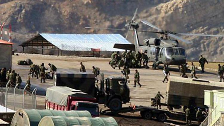 Zap bölgesine komando birliklerinin katılımıyla büyük operasyon