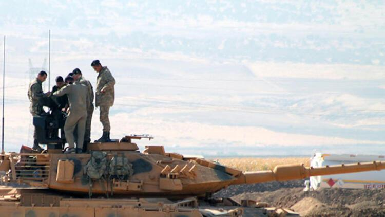 Irak sınırında askerler bunu yaptı