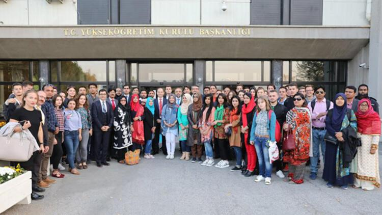 YÖK burslusu uluslararası öğrenciler buluştu
