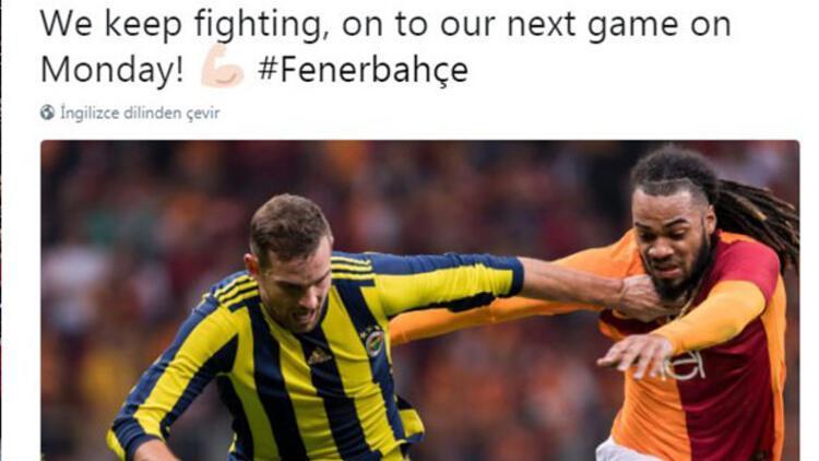 Janssen'den Galatasaray gafı! Hemen sildi...