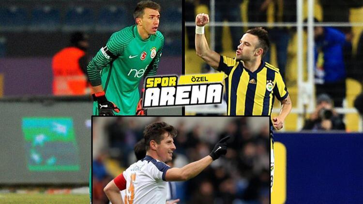 Muslera, Valbuena ve Emre Belözoğlu'na sevk yok!