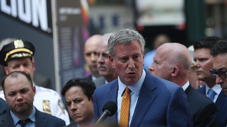 Bill de Blasio, New York Belediye Başkanlığına yeniden seçildi