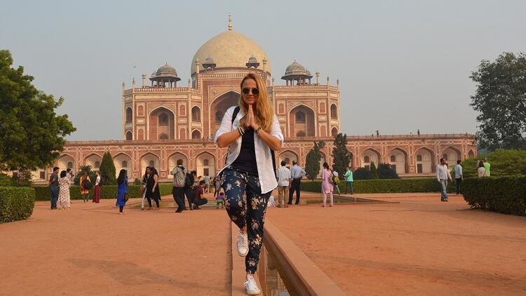 Rengârenk rota: Yeni Delhi