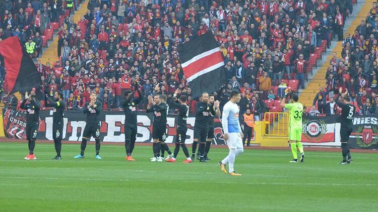 Eskişehirspor ile Ç.Rize yenişemedi