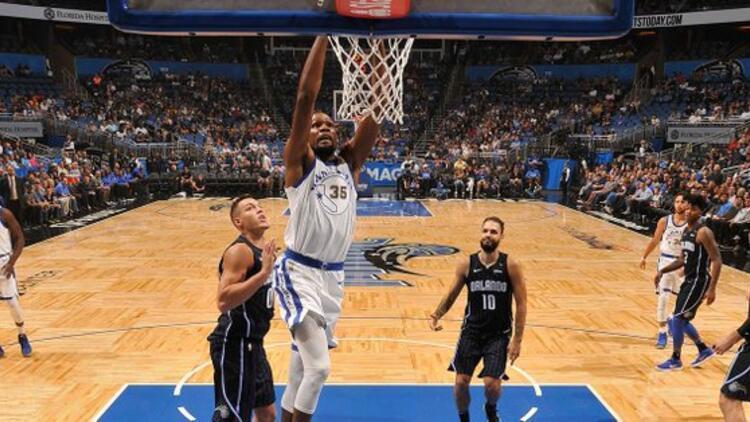 Warriors güle oynaya zafere smaç bastı NBAde...