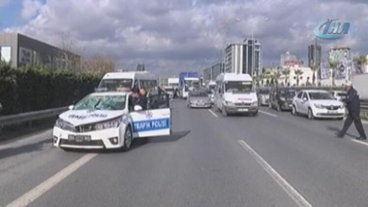İki polis aracının karıştığı kazada bir kişi hayatını kaybetti