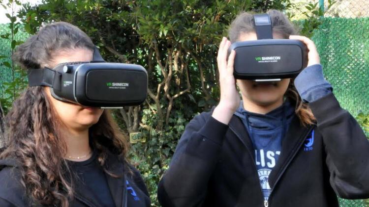 İstanbul Saint-Joseph Lisesi'nden sanal gerçeklik projesi