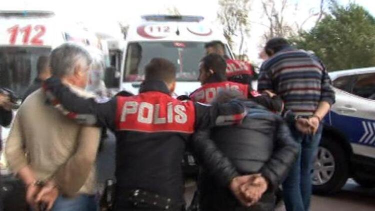 Beşiktaş'ta, ofiste dehşet anları!