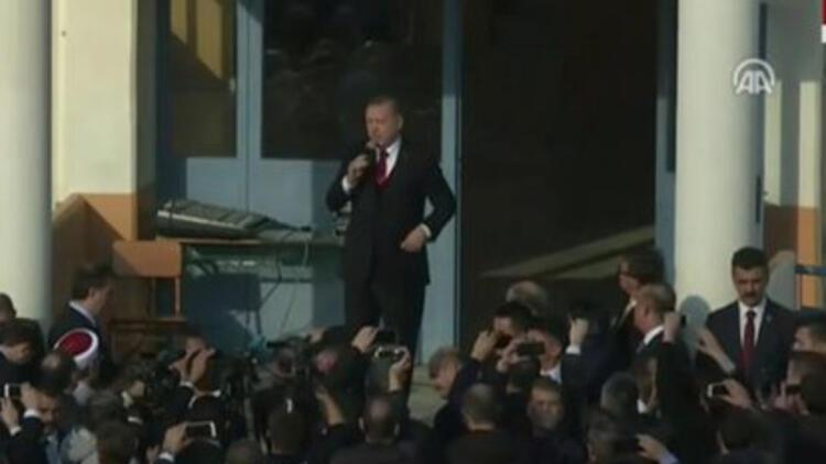 Erdoğandan Gümülcinede 4 vekile mesaj