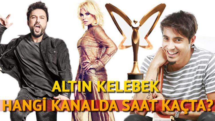 Pantene Altın Kelebek ödül töreni hangi kanalda saat kaçta yayınlanacak?