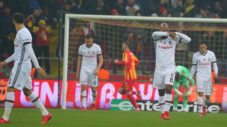 Beşiktaş'a Kayseri'de büyük şok!