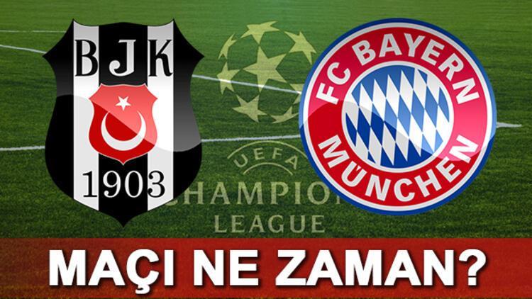Beşiktaş Bayern Münih Şampiyonlar Ligi maçı ne zaman saat kaçta hangi kanalda canlı yayınlanacak?