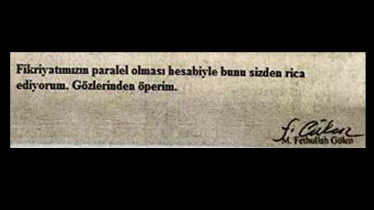 Gülen'den mahkemeye: Salıver hâkim