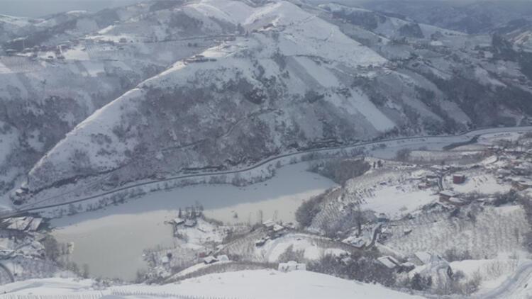 Trabzonun yeni çekim merkezi Sera Gölü
