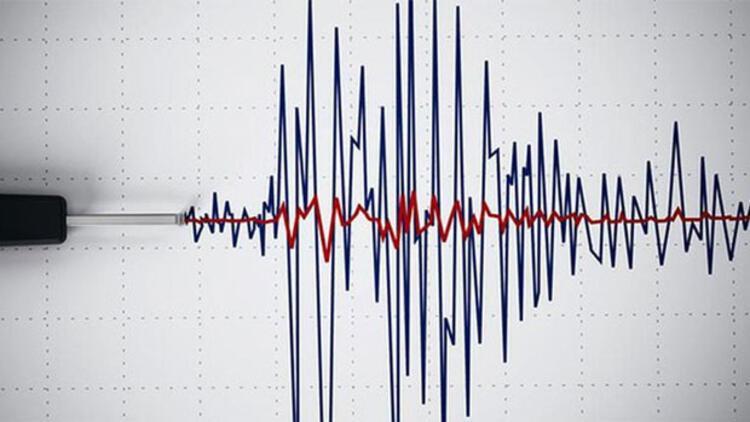 İzmir'de deprem..4.8 ile sallandı