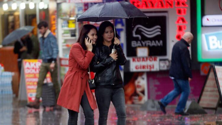 Hava durumu yağış sinyali veriyor...  Yılbaşında hava nasıl olacak?