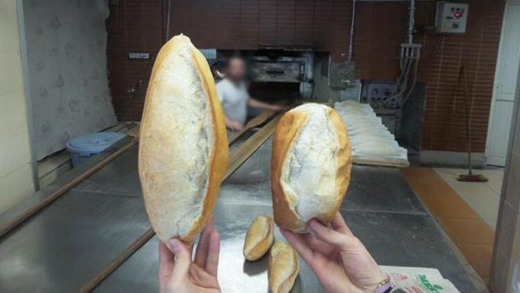 Ekmek oyununa dikkat! Fırından alınca 250 gram, eve gidince 190 gram