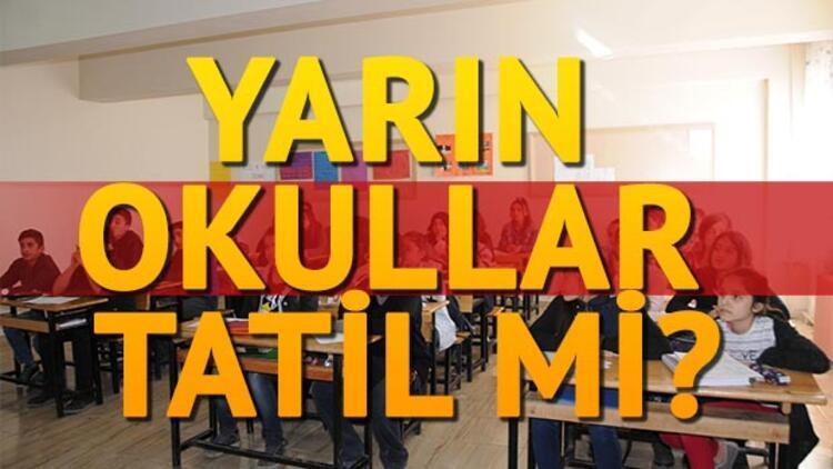Adana'da okullar tatil mi?