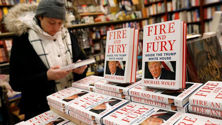 Beyaz Saray'ı karıştıran kitap piyasaya çıktığı gün tükendi