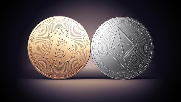 Ethereum rekor kırıyor, bitcoin düşüşte