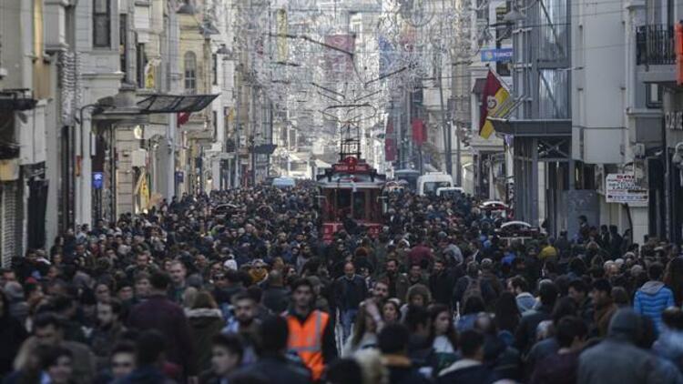 İstiklal Caddesi şu an...