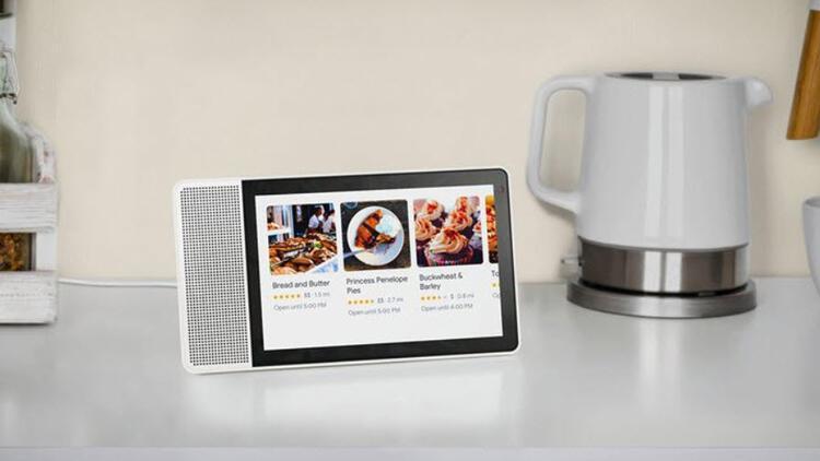 İşte Lenovo'nun akıllı ekranı