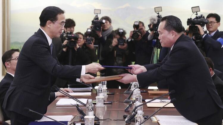 Kuzey ve Güney Kore'nin görüşeceği tarih belli oldu