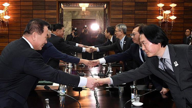 Kuzey Kore ve Güney Kore yeniden bir araya geldi