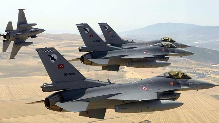Herkesin sorduğu soru yanıtlandı: Türk jetleri Suriye hava sahasına girdi mi?
