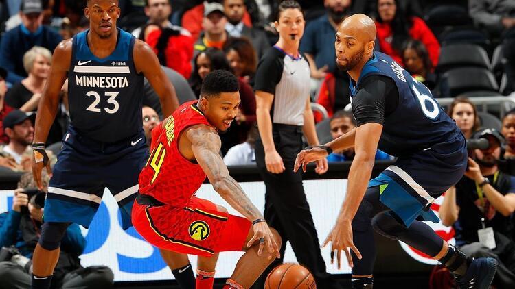 Ersanlı Hawks, Timberwolves'u geçti