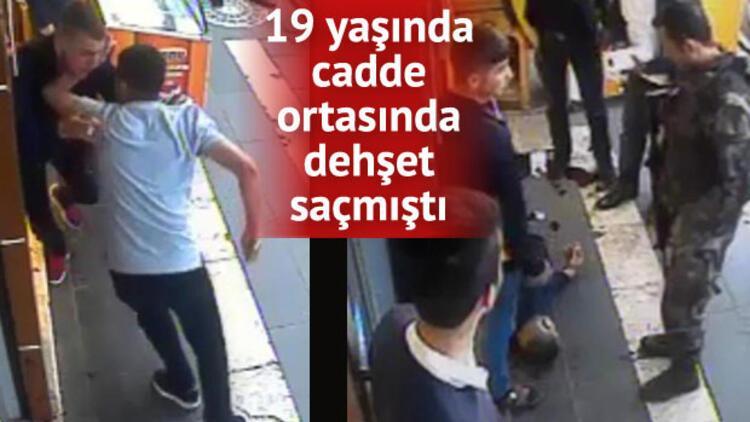 Kamera önünde 9 bıçak darbesine, 14 yıl hapis