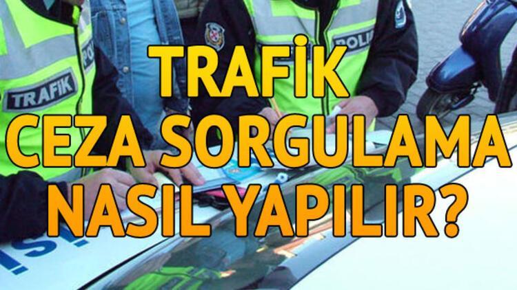 Trafik cezası sorgulama işlemi nasıl yapılır?