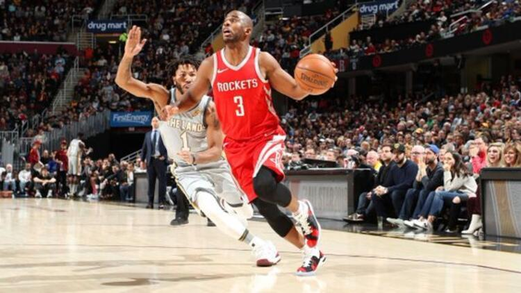 Rockets, Cavaliers'a fark attı