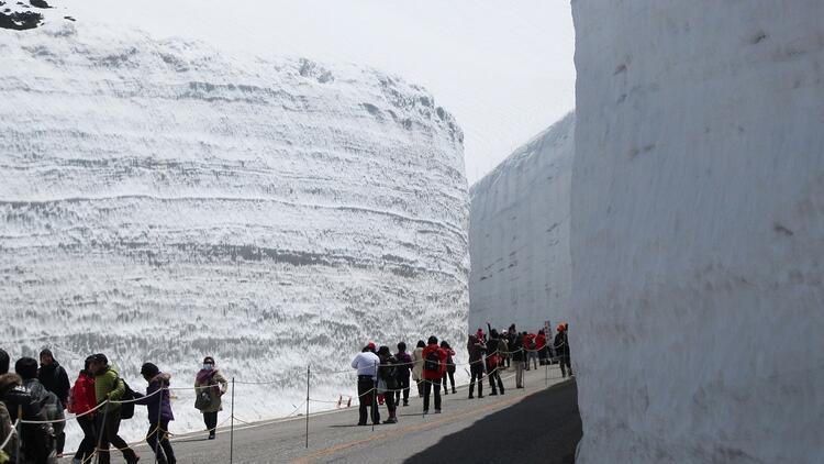 Japonya'nın büyüleyici güzelliği: Tateyama Alpleri