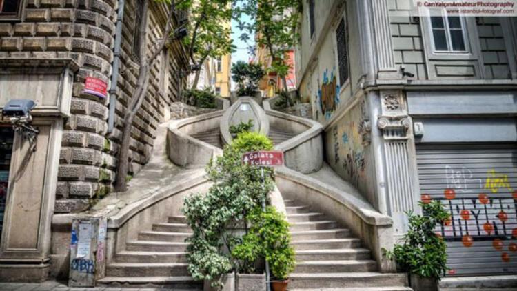 Karaköy Kamondo Merdivenleri'nin ilginç hikayesi