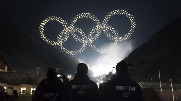 Intel'den Kış Olimpiyat'larında drone rekoru