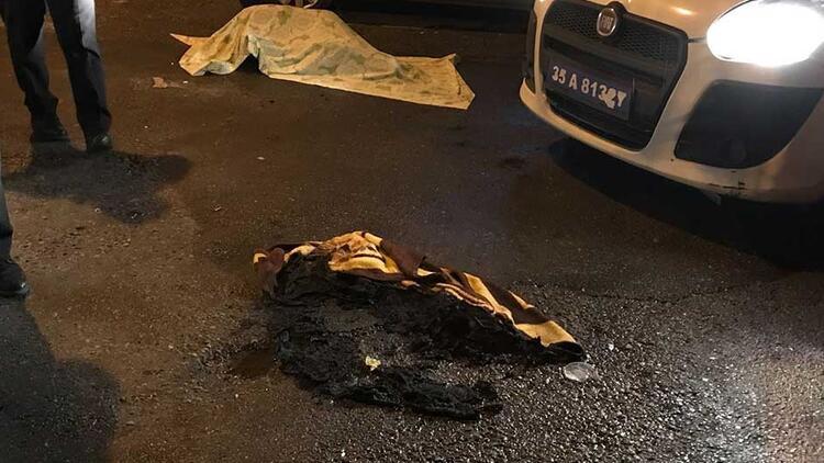 Çığlıklarına koştular! Sokak ortasında yanarak öldü