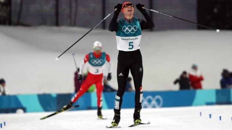Kış Olimpiyatları'nda kombine bireysel yarışında altın madalya Almanya'nın!