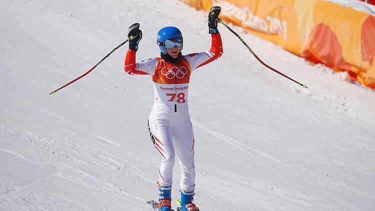 Kış Olimpiyatları'nda Özlem Çarıkçıoğlu 57. oldu
