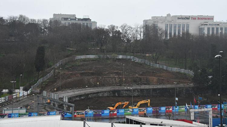 Maçka Parkı'nda 199 ağaç söküldü... Bir gecede alan tamamen boşaltıldı