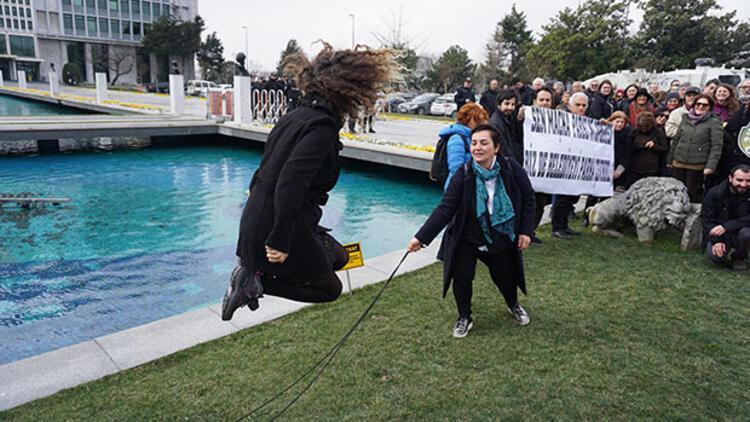 Maçka Parkı'na tünel Saraçhane'de protesto edildi
