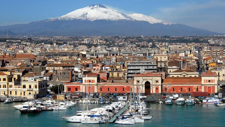 Etna eteklerinde Akdeniz bereketi