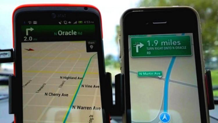 Google Maps mi daha hızlı yoksa Apple Maps mi?
