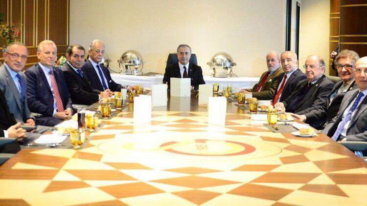 Galatasaray'da başkanlar zirvesi sona erdi