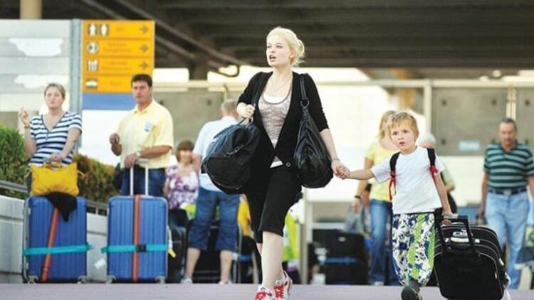 Türkiyeye gelen Rus turist sayısı 5 milyonu aşacak
