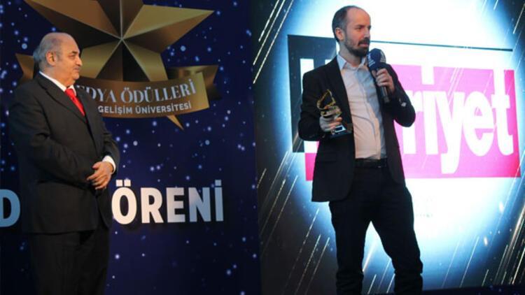 Gelişim Üniversitesi öğrencilerinden Hürriyet'e ödül
