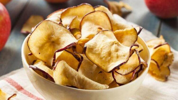 Fırında elma dilimleri tarifi