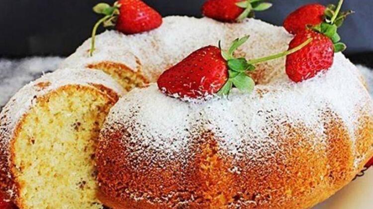 Hindistan cevizli puf kek