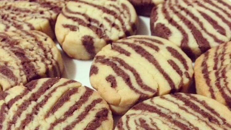 Pratik zebra kurabiye tarifi