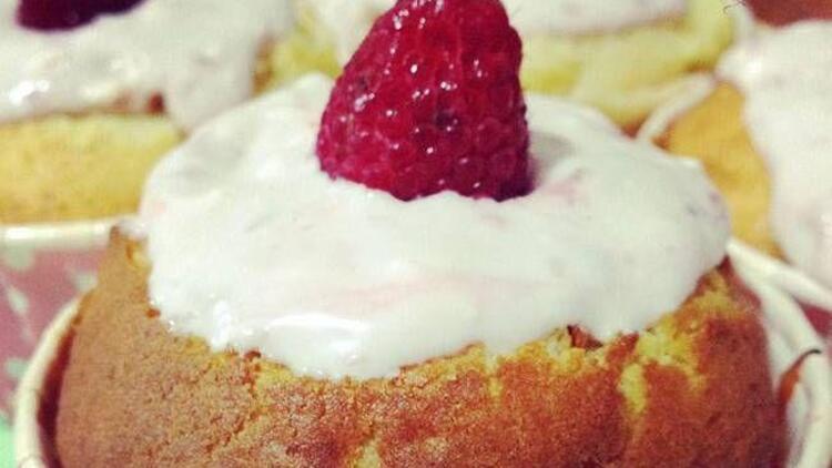 Limonlu ve frambuazlı muffin tarifi